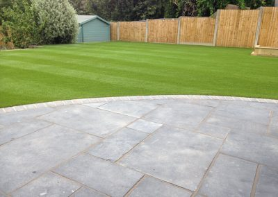 Artifical Lawn and Slate Paving – Drayton, Portsmouth