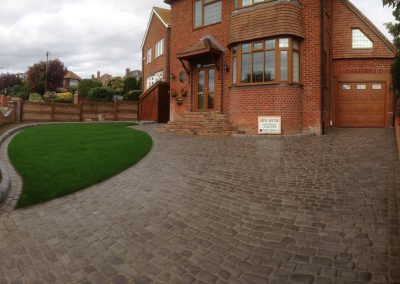Driveway, Wall, Steps & Turfing  – Portchester