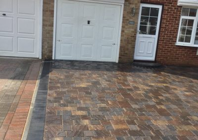 New Block Paved Drive – Lee on Solent, Hampshire