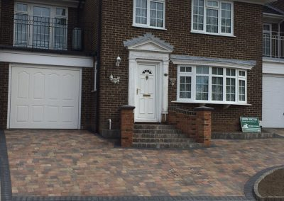 Block Paved Driveway and Steps in Wallington, Fareham