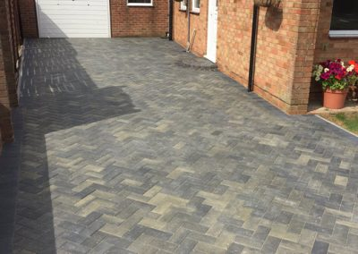 New Block Paved Driveway – Horndean, Hampshire