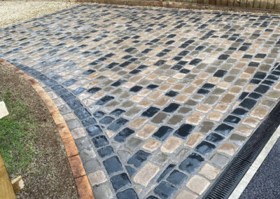 Driveway Installed In Original Cobble in Fareham