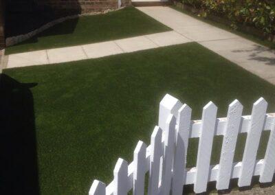 Installed Pickett Fence